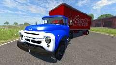 ZIL-V with semi Coca-Cola