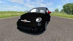 Fiat 500 Abarth Black