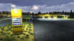 The European petrol stations