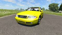 Audi S4 2000 [Pantone Yellow 012 C] for BeamNG Drive