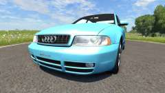 Audi S4 2000 [Pantone Blue 0821 C] for BeamNG Drive
