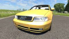 Audi S4 2000 [Pantone 804 C] for BeamNG Drive
