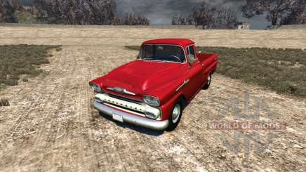 Chevrolet Apache 1958 Fleetside for BeamNG Drive
