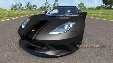 Lotus Evora GTE 2011 [Black] for BeamNG Drive