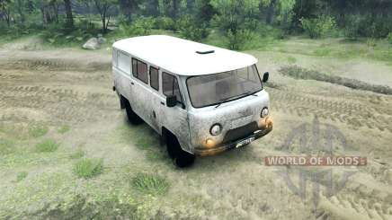 UAZ-3909 farmer for Spin Tires