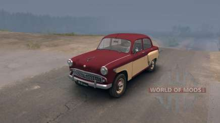Moskvich 407 for Spin Tires