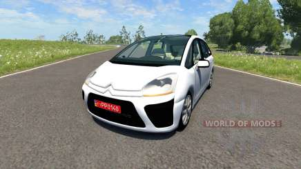 Citroen C4 Picasso for BeamNG Drive