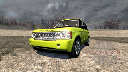 Range Rover Supercharged 2008 [Yellow] for BeamNG Drive