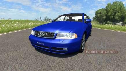 Audi S4 2000 [Pantone Reflex Blue C] for BeamNG Drive