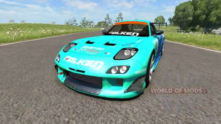 Mazda RX-7 Drift Falken for BeamNG Drive