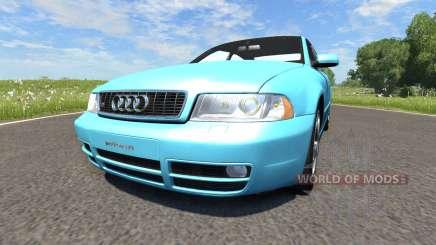 Audi S4 2000 [Pantone Blue 0821 C] for BeamNG Drive