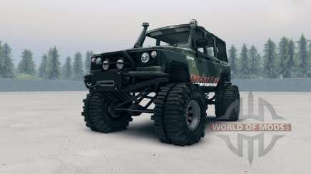 UAZ-3172 for Spin Tires