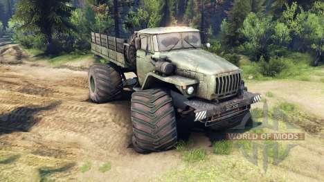 Ural-4320 Polar Explorer v1.1 for Spin Tires