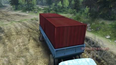 The Trailer ODS-885 for Spin Tires