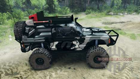 Jeep Cherokee XJ v1.1 Camo for Spin Tires