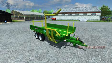 Dolly Sipma WS 6510 Dromader v1.1 for Farming Simulator 2013