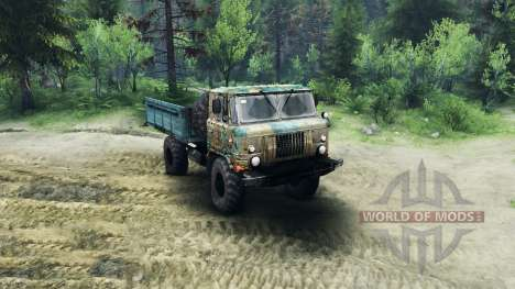 GAZ-66 v1.1 for Spin Tires