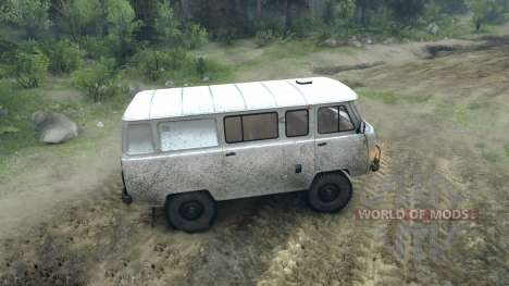 UAZ-3909 off-road for Spin Tires