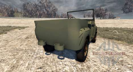 The UAZ-469 for BeamNG Drive