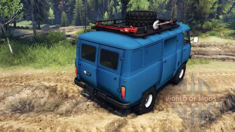 UAZ-452 for Spin Tires