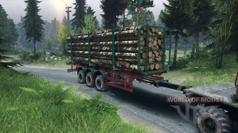 Trailer-timber for Spin Tires