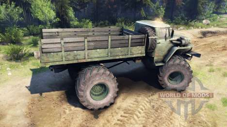 Ural-4320 Polar Explorer v1.1 for Spin Tires