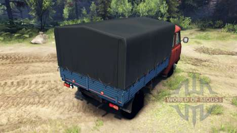 UAZ-39095 for Spin Tires