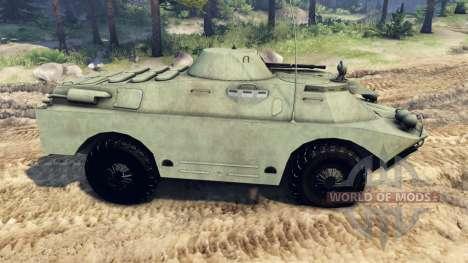 BRDM-2 for Spin Tires