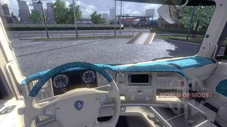 Interior for Scania -Beach- for Euro Truck Simulator 2