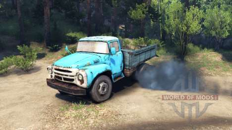 New sounds of the engine ZIL-130 for Spin Tires