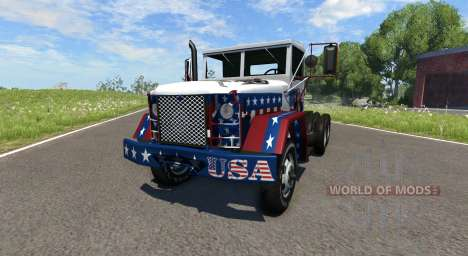 AM General M35A2 Racing for BeamNG Drive