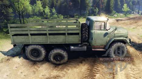 ZIL-131 v2.0 for Spin Tires