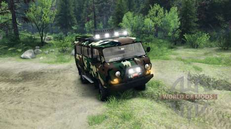 UAZ-3909 off-road v2.0 for Spin Tires