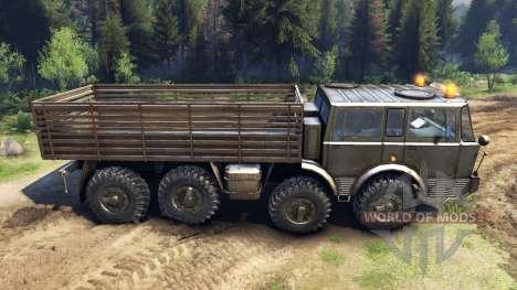 Tatra 813 8x8 KOLOS for Spin Tires
