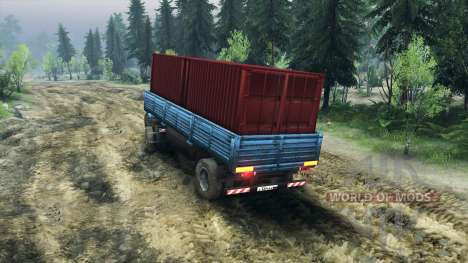 The trailer ODS-885 v2.2 for Spin Tires