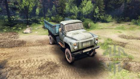 GAZ-52 for Spin Tires
