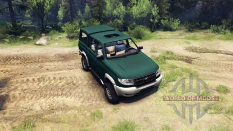 UAZ-23632 for Spin Tires