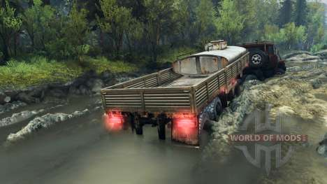 KrAZ-6437 CabCol v1 for Spin Tires