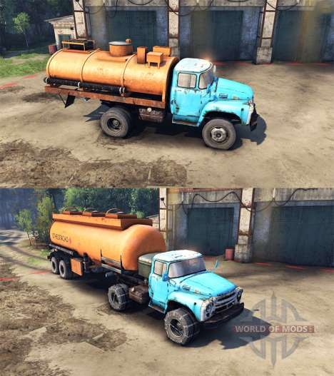 All equipment for ZIL for Spin Tires