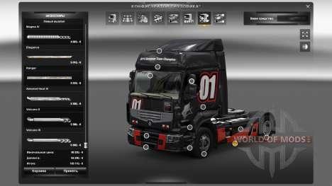 Outdoor accessories for Euro Truck Simulator 2