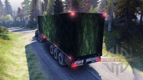 Semi-camouflage for Spin Tires