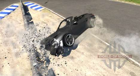 Porsche 911 Cabriolet for BeamNG Drive