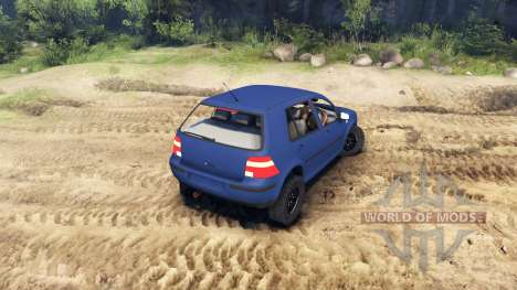 Volkswagen Golf IV for Spin Tires