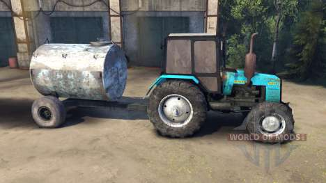 MTZ-1221 Belarus for Spin Tires