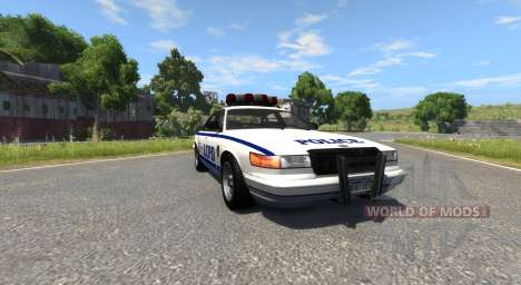 Vapid Police Cruiser for BeamNG Drive