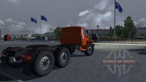 Ural 43202 for Euro Truck Simulator 2
