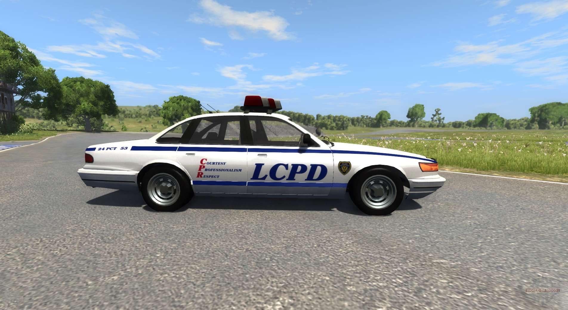 Beamng Drive Police Car Mod