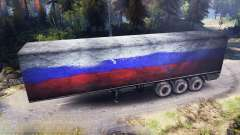 Semitrailer Russia