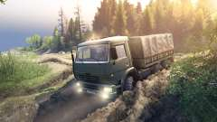 KamAZ-6520 hacks for Spin Tires