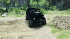 Jeep Cherokee XJ v1.1 Rough Country black for Spin Tires